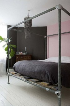 Awesome Canopy Bed With Sparkling Lights Decor Ideas 13