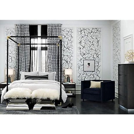 Awesome Canopy Bed With Sparkling Lights Decor Ideas 44