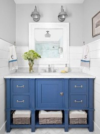 Awesome Coastral Nautical Bathroom Design Ideas 08