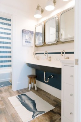 Awesome Coastral Nautical Bathroom Design Ideas 11