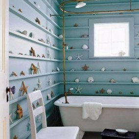 Awesome Coastral Nautical Bathroom Design Ideas 15