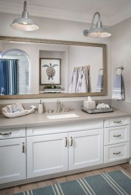 Awesome Coastral Nautical Bathroom Design Ideas 26