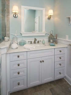 Awesome Coastral Nautical Bathroom Design Ideas 43