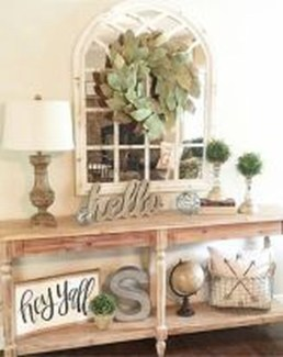 Cute Rustic Farmhouse Home Decoration Ideas 34