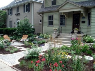 Gorgeous Front Yard Landscaping Remodel Ideas 03