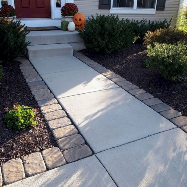 Gorgeous Front Yard Landscaping Remodel Ideas 49