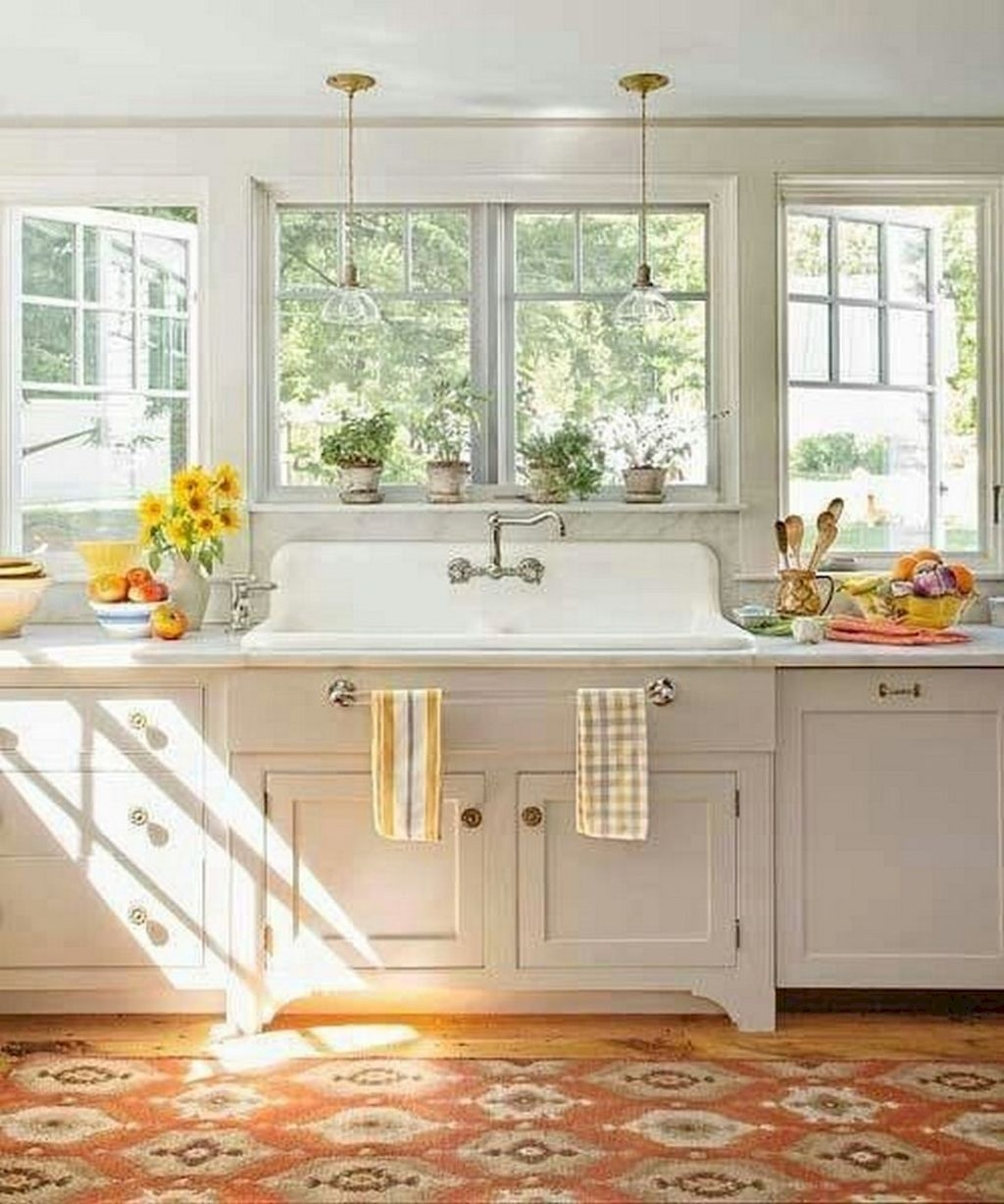 Gorgeus Farmhouse Kitchen Sink Design Ideas 41