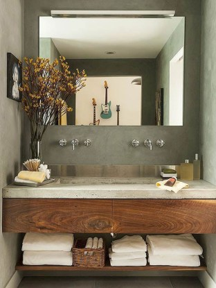 Modern Farmhouse Bathroom Vanity Design Ideas 09