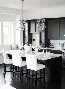 Stunning Luxury Black Kitchen Design Ideas 06