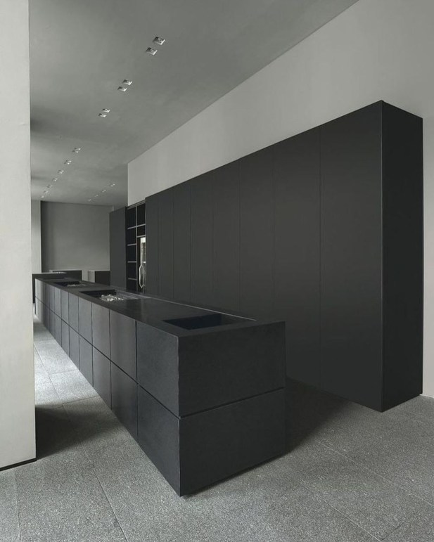 Stunning Luxury Black Kitchen Design Ideas 33