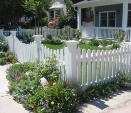 Totally Inspiring Front Yard Fence Remodel Ideas 28