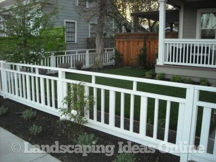 Totally Inspiring Front Yard Fence Remodel Ideas 32