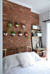 Adorable Exposed Brick Walls Bedrooms Design Ideas 10