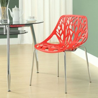 Cheap And Minimalist Red Accent Chair Dining Ideas 24