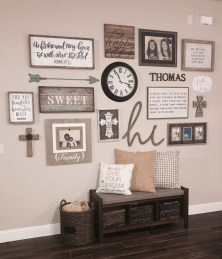 Cozy Modern Farmhouse Style Living Room Decor Ideas 36