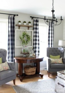 Cozy Modern Farmhouse Style Living Room Decor Ideas 46