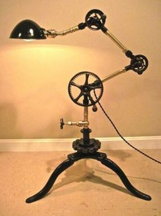 Creative Industrial Floor Lamps Design Ideas 18