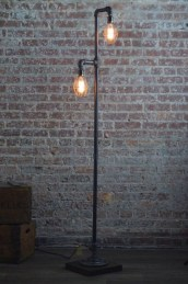Creative Industrial Floor Lamps Design Ideas 28