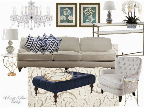 Gorgeous White And Blue Living Room Ideas For Modern Home 02