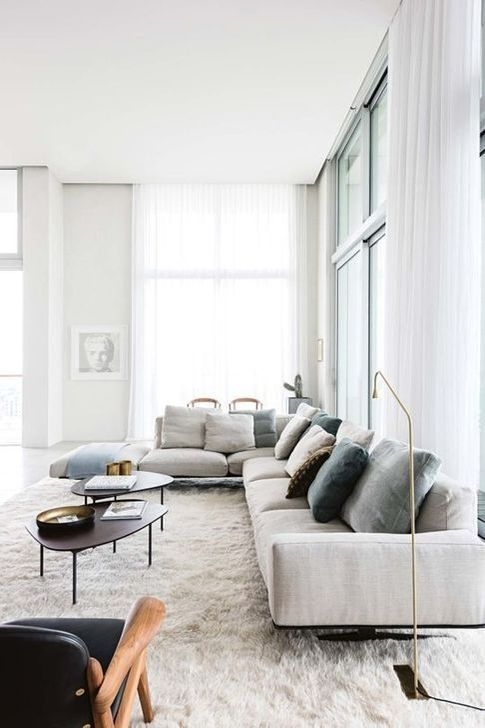 Modern Apartment Décor For Living Room 33