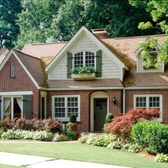 Stunning Exterior Paint Colors Red Brick Ideas 02