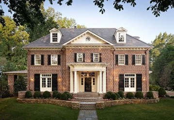 Stunning Exterior Paint Colors Red Brick Ideas 18