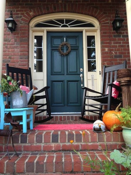 Stunning Exterior Paint Colors Red Brick Ideas 40