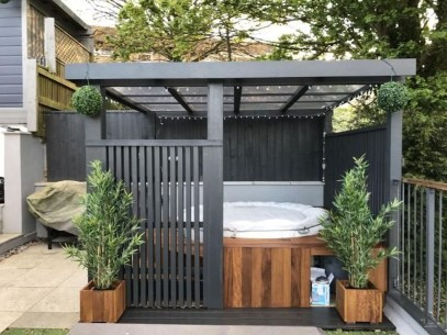 Totally Inspiring Garden Tub Decorating Ideas 08