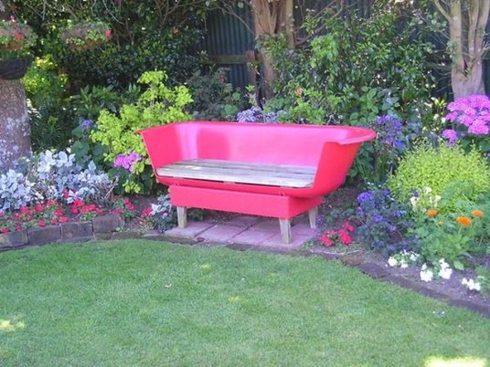 Totally Inspiring Garden Tub Decorating Ideas 26