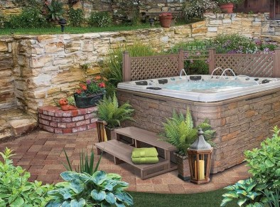 Totally Inspiring Garden Tub Decorating Ideas 29