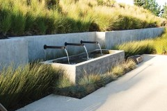 Amazing Modern Water Feature For Your Landscape12