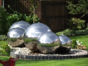 Amazing Modern Water Feature For Your Landscape20