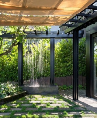 Amazing Modern Water Feature For Your Landscape23