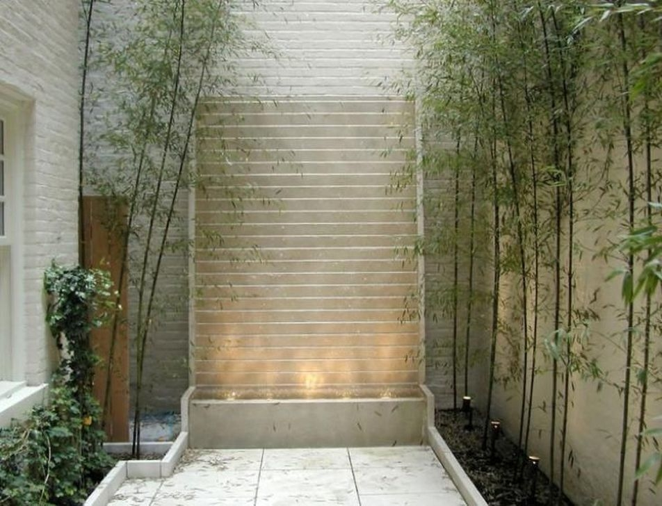 Amazing Modern Water Feature For Your Landscape25