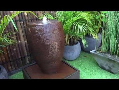 Amazing Modern Water Feature For Your Landscape36