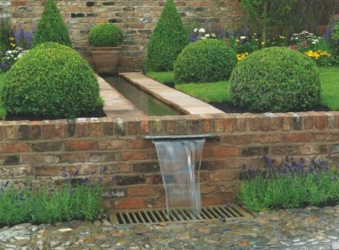 Amazing Modern Water Feature For Your Landscape41