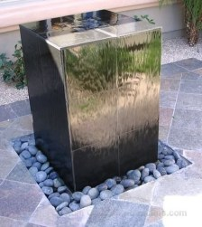 Amazing Modern Water Feature For Your Landscape42