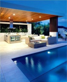 Awesome Outdoor Kitchen Design Ideas 14