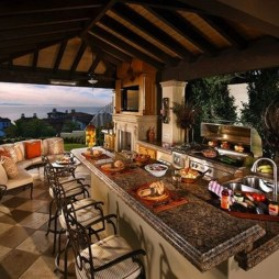 Awesome Outdoor Kitchen Design Ideas 18