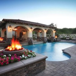 Awesome Outdoor Kitchen Design Ideas 22