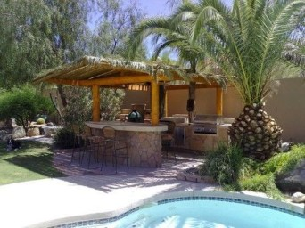 Awesome Outdoor Kitchen Design Ideas 44