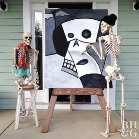 Cozy Vintage Halloween Decoration For Outdoor Ideas 15