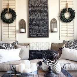 Fabulous Farmhouse Wall Decor Ideas30