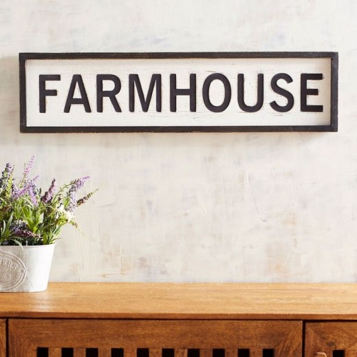 Fabulous Farmhouse Wall Decor Ideas40