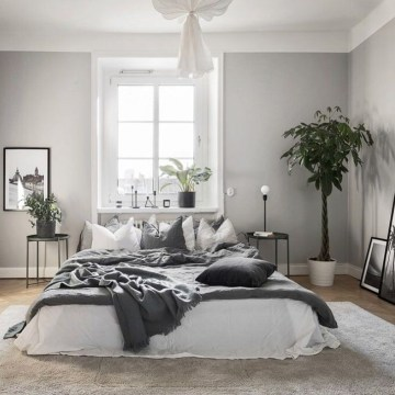 Gorgeous Grey Bedroom Ideas To Repel Boredom08