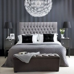 Gorgeous Grey Bedroom Ideas To Repel Boredom25