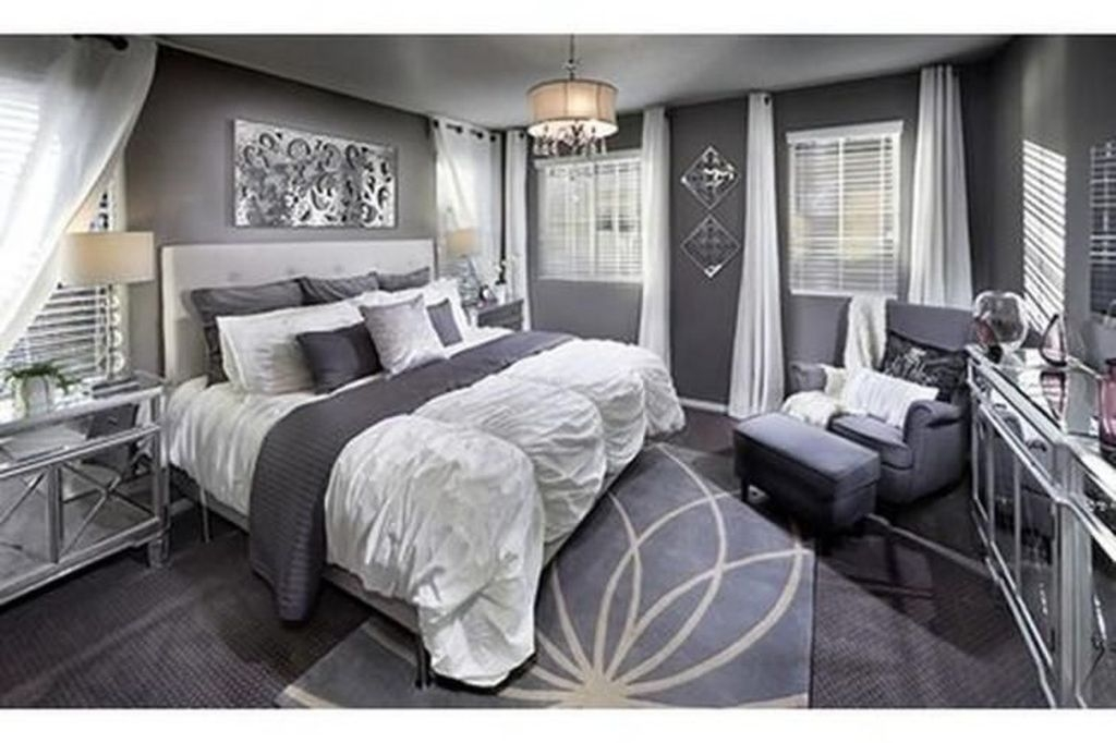 Gorgeous Grey Bedroom Ideas To Repel Boredom44