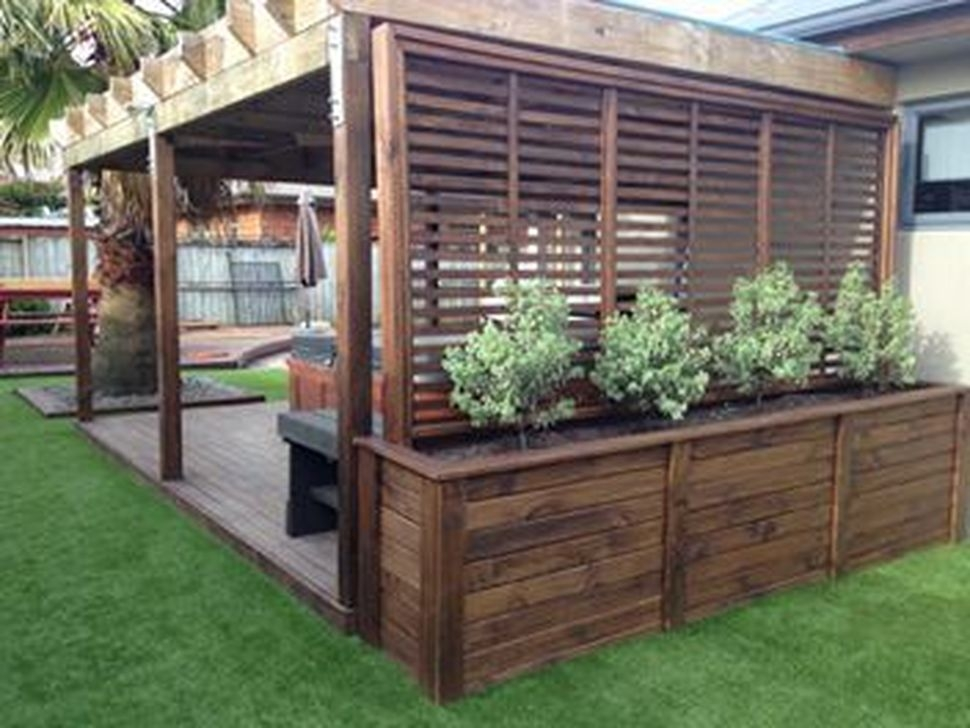 Modern Beautiful Privacy Fences Ideas40