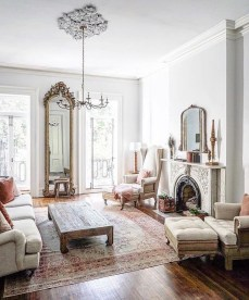 Popular French Country Living Room Decor Ideas 14