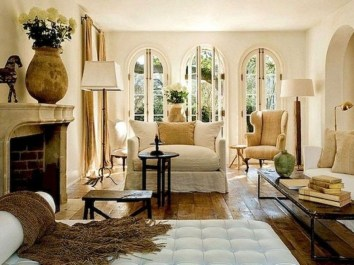 Popular French Country Living Room Decor Ideas 21